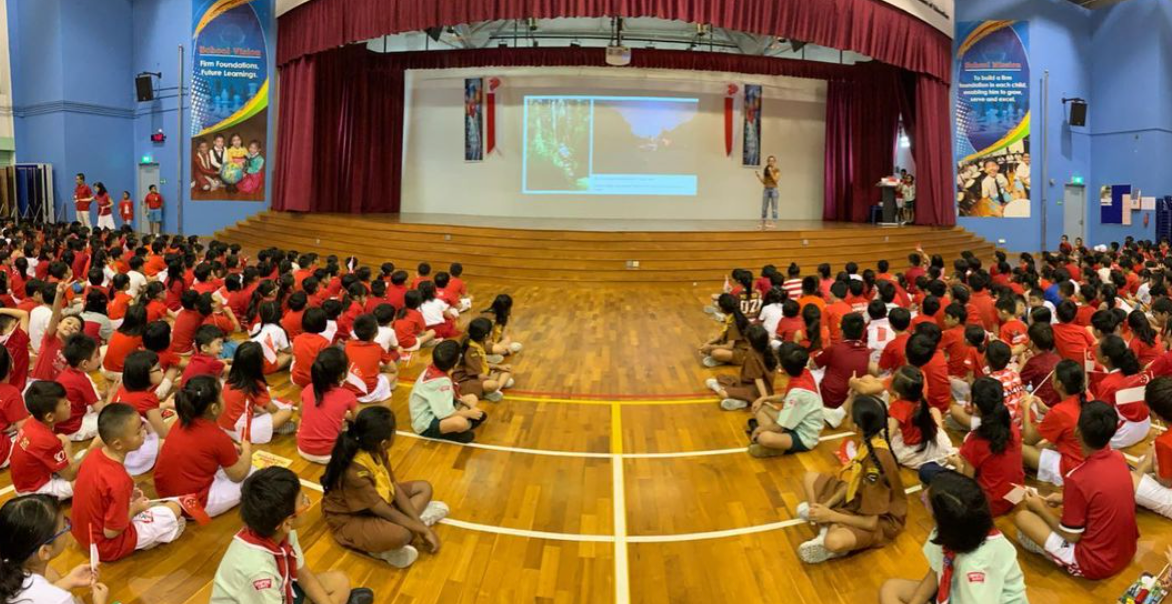 Northland Primary School assembly talk, August 2019
