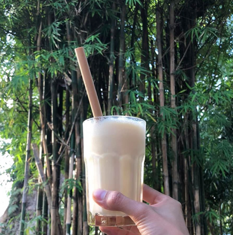 Bamboo Straw in Grove