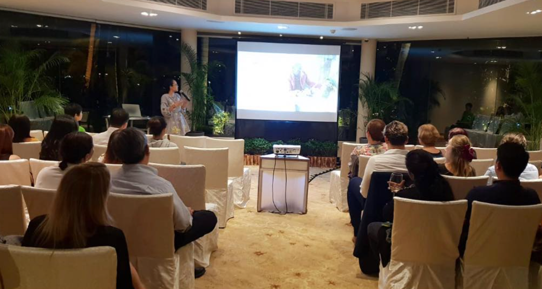 "Corporate client sharing session - Shangri-La Resorts and their clients during their evening programme ""A Journey Towards Sustainability"""