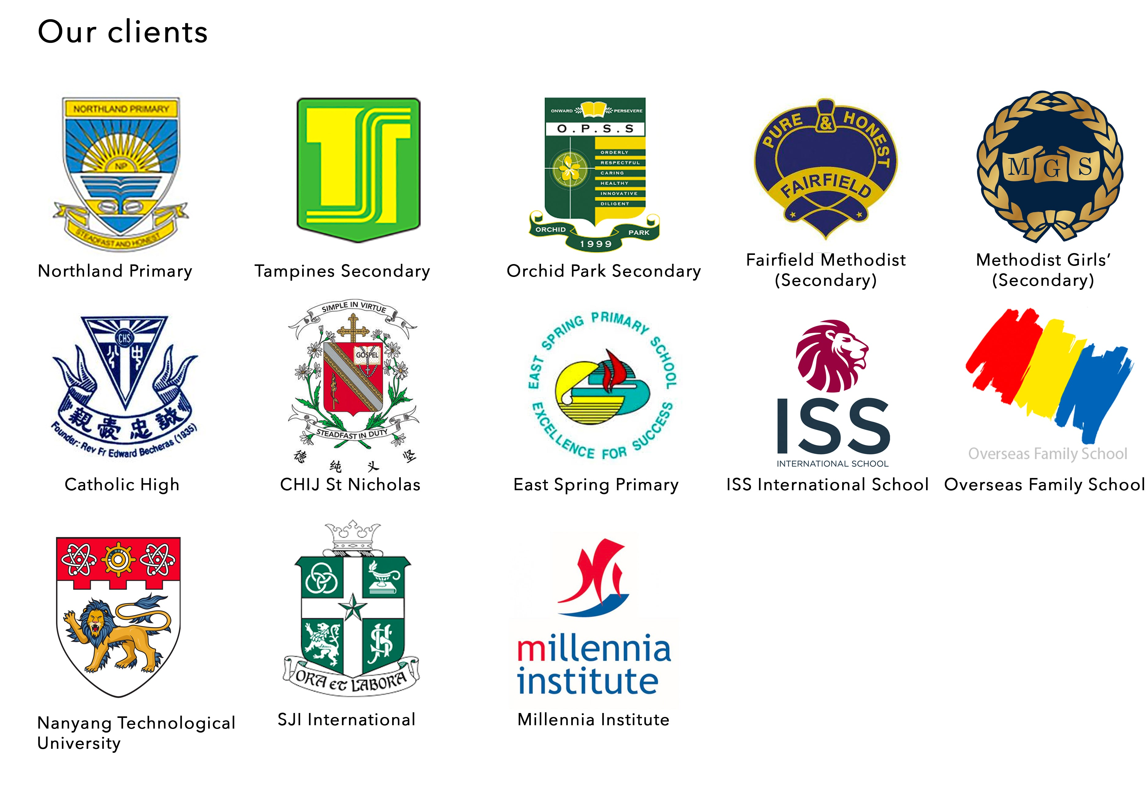 Sustainability talk and sharing session for school clients international school government Singapore