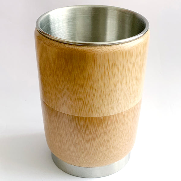 Bamboo shell drinking cup