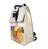 L cement sack backpack (UPCYCLED!)