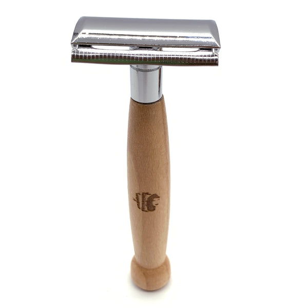Beechwood Safety Razor (Double Edge)