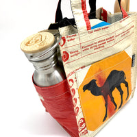 Upcycled Lunch Carrier Bag
