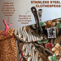 Stainless Steel Clothespegs