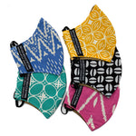 Set of 5 Batik Face Masks (Regular size)