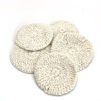 100% Cotton Crochet Facial Rounds