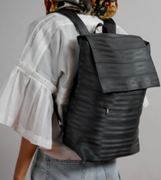 UPCYCLED Seatbelt backpack