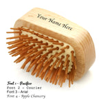 Custom Engraving Hairbrush