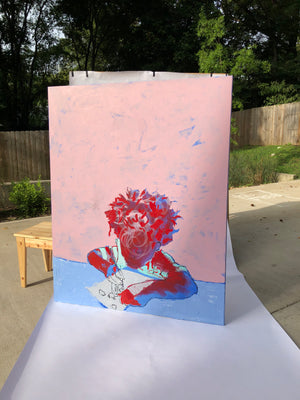 Royal Self Portrait - Original Painting
