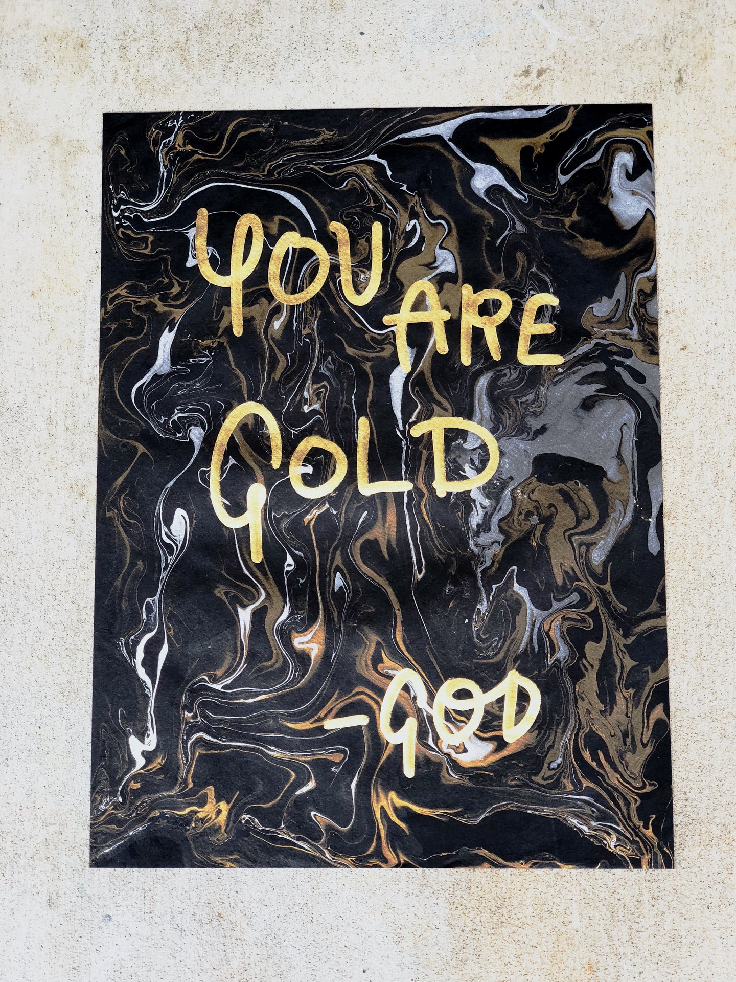 God: You Are Gold