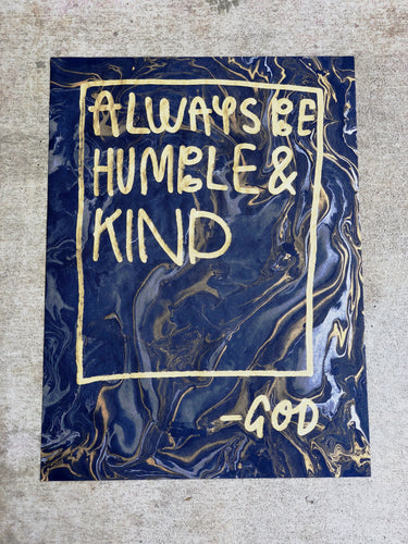God: Humble & Kind