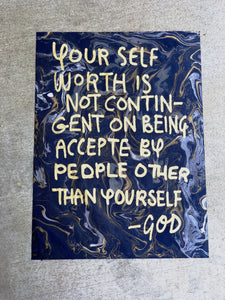 God: Self Worth