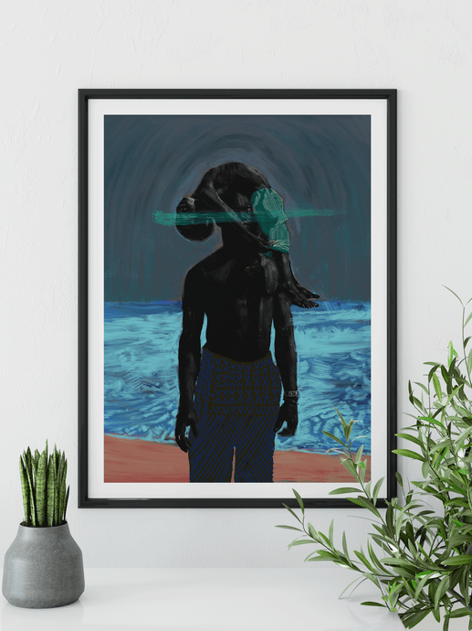 Illusive Father Art Print