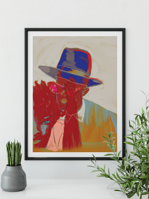 Imperfect Father Art Print