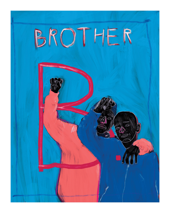 Brother Art Print