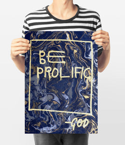 God: Be Prolific