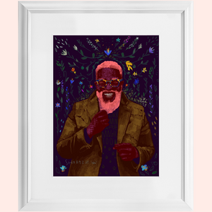 "Framed: ""Black Man Magic"" by Shabazz Larkin"