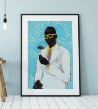 Load image into Gallery viewer, Fragile Black Man Art Print