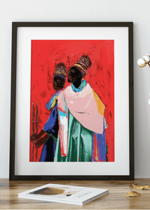 Two Kings  Art Print