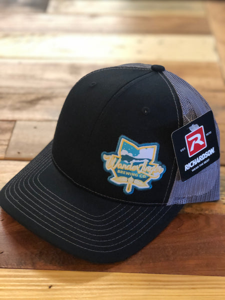 Trucker Hat - Black/Charcoal