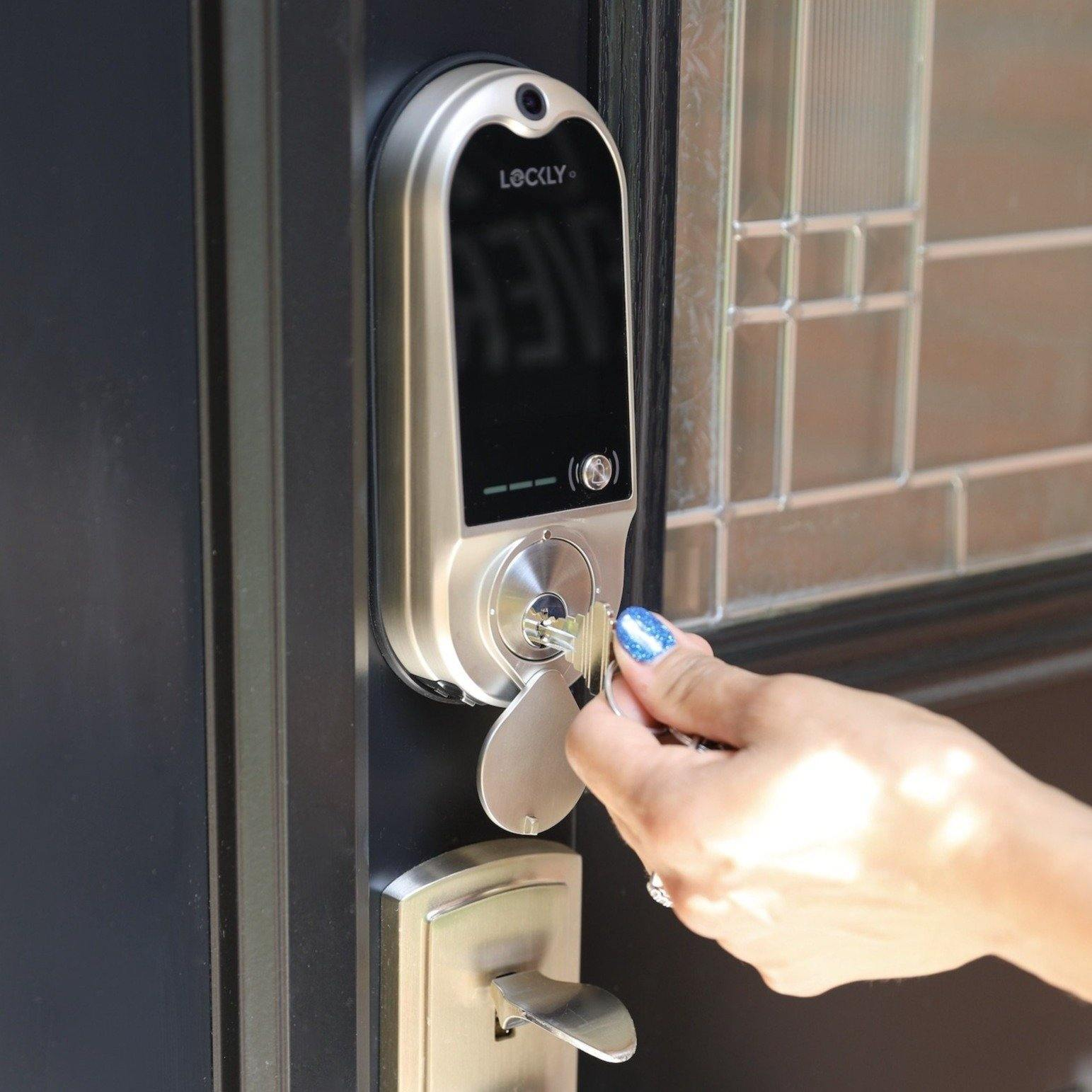 LOCKLY Vision™ Doorbell Camera Smart Lock