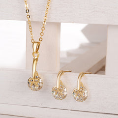 Crystal Gold Jewellery