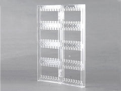 2 Door Home Desk Transparent Acrylic Holder