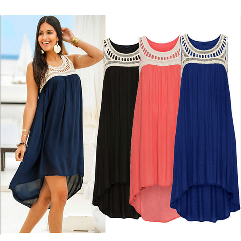 Long Chiffon Bohemian Dress