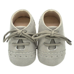 Hot Newborn Baby First Walk Shoes Girl Boy Soft Nubuck Leather Prewalker Anti-slip Shoes Moccasins Footwear Shoes Toddler Shoes