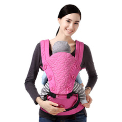 Baby Carrier Hip Seat Soft Lightweight Detachable Strap 2 IN 1 Front Backpack for Baby Toddlers Infants