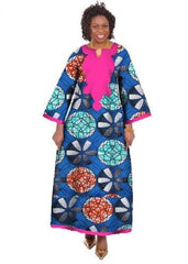 Cotton Batik Print Dress
