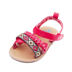 Girls Kids Casual Festival Flower Baby Shoes 0-1 Years Newly Born Infant Baby Girls First Walkers Kid Shoes #9