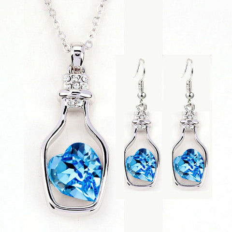 Geometry Drift bottles jewellery set