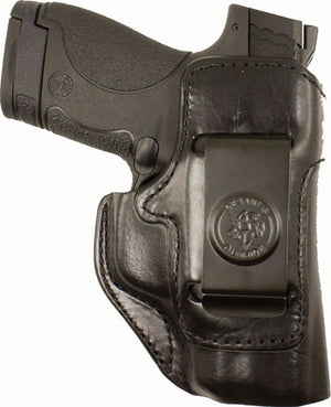 DESANTIS INSIDE HEAT HOLSTR LH IWB LEATHER SIG P365 BLACK