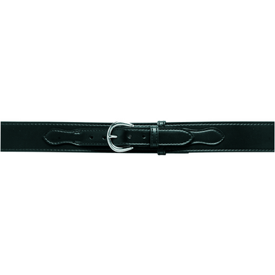 Border Patrol Belt w/ Buckle, 2.25  Belt Option Velcro Belt Size: 42  Buckle Option: Chrome Belt Finish: Plain Black