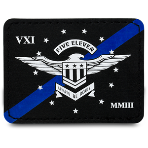 BLUE LINE EAGLE PATCH