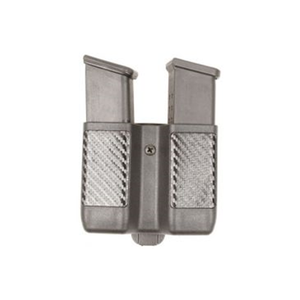 Double Mag Pouch - Double Stac  Double Mag Pouch - Double Stack Mags - Matte Finish Color-Black  Size: