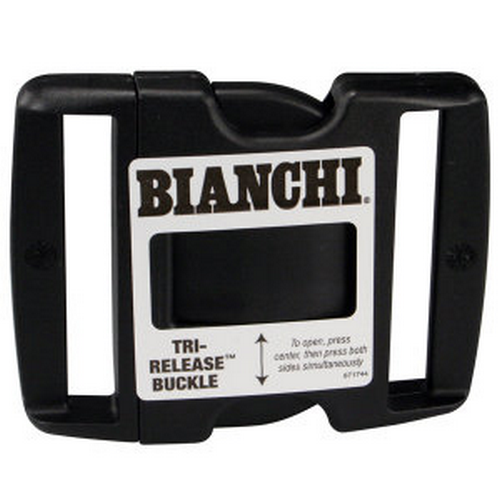 BUCKLE TRI-RELEASE FOR 2-1/4   Replacement Buckles -Tri-Release Buckle 2.25  Black