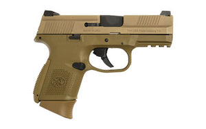 FN FNS-9C 9MM 1-12RD 1-17RD FDE