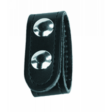 4-Pack Belt Keepers, Double Sn  4-Pack Belt Keepers, Double Snap Black Finish Place on belt up to 2-1/4 in.