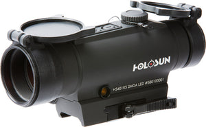 HOLOSUN RED DOT 2-MOA W/SIDE MOUNT LASER 30MM TUBE