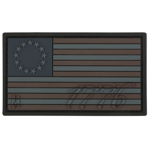 1776 US Flag Patch (Stealth)