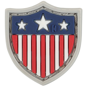 USA Shield Micropatch 0.8  x 0.9  (Full Color)