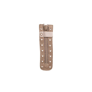 Boot Zippers, Coyote Tan, 9 Eyelet