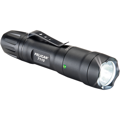7110,1AA/1CR123 LIGHT,BLK