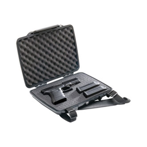 P1075,PISTOL & ACCESSORY CASE,1075,BLACK