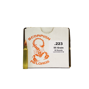 Scorpion .223 Remington Ammo