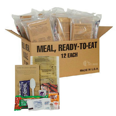 5ive Star - Deluxe Field Ready Ration without Heater, Case