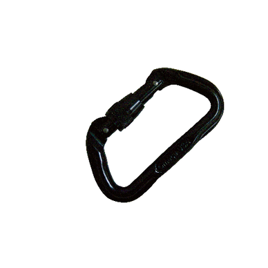 5ive Star - Standard D Screw-Lok Carabiner, Black